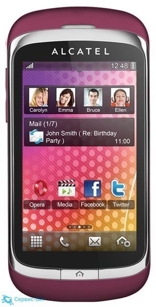 Alcatel One Touch 818D | Сервис-Бит