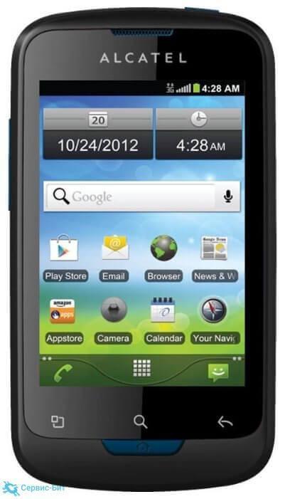 Alcatel One Touch 922 | Сервис-Бит