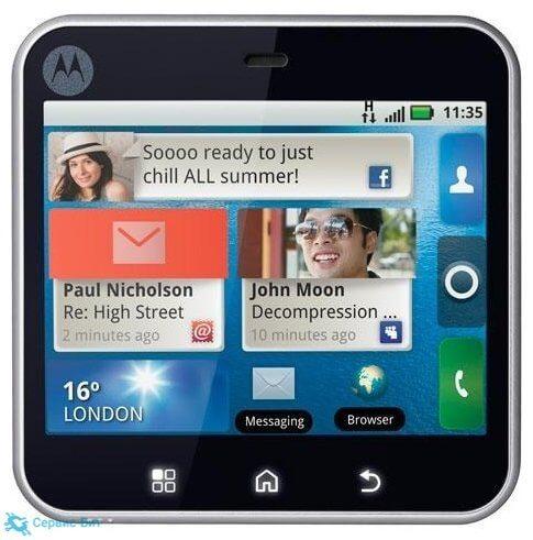Motorola Flipout | Сервис-Бит
