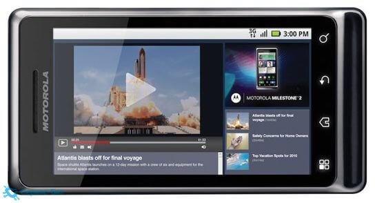 Motorola Milestone 2 | Сервис-Бит