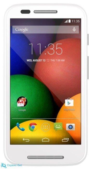 Motorola Moto E Dual sim | Сервис-Бит