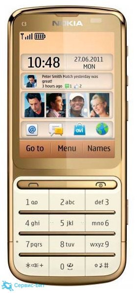 C3-01 Gold Edition | Сервис-Бит