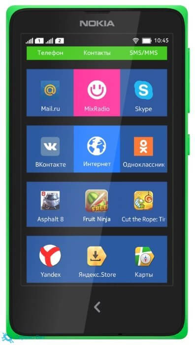 Nokia X Dual sim | Сервис-Бит