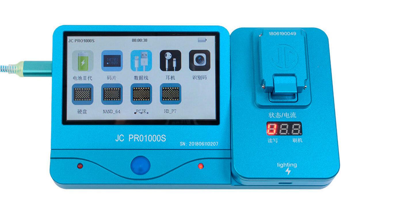 Использование оборудования для замены NAND iPhone